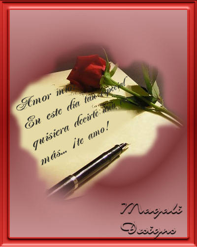 mensajes de amor. Mensajes de Amor